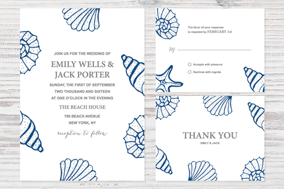 Beachy Wedding Set Design