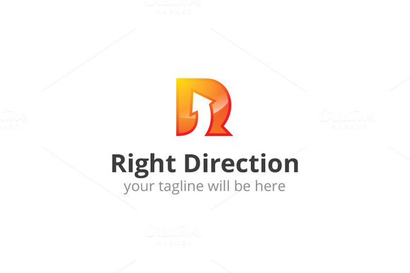 R Logo Right Direction