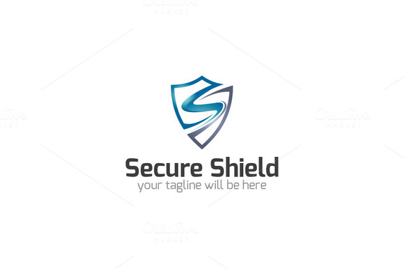 Secure Shield S Logo