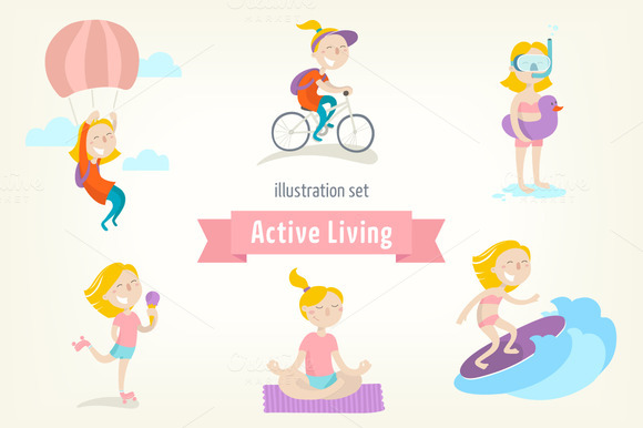 Active Lifestyle Girl S Edition