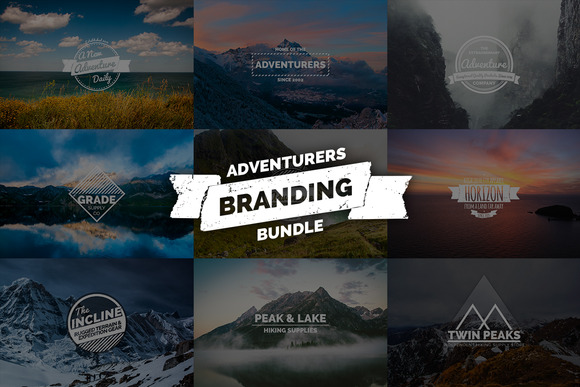 Adventurers Branding Bundle
