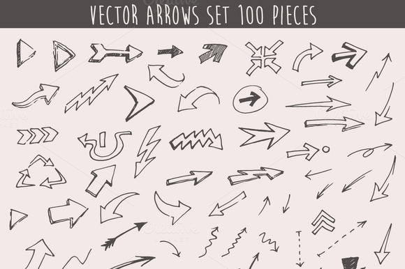Set Of 100 Arrows