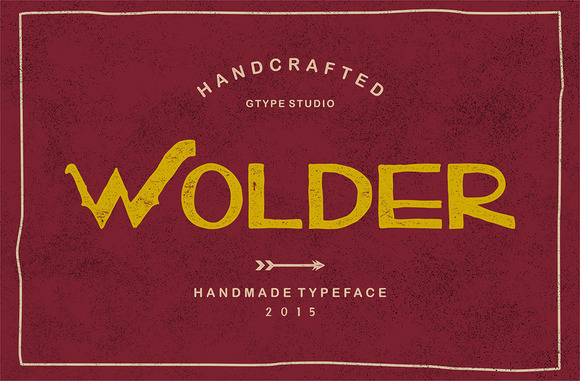 Wolder Typeface