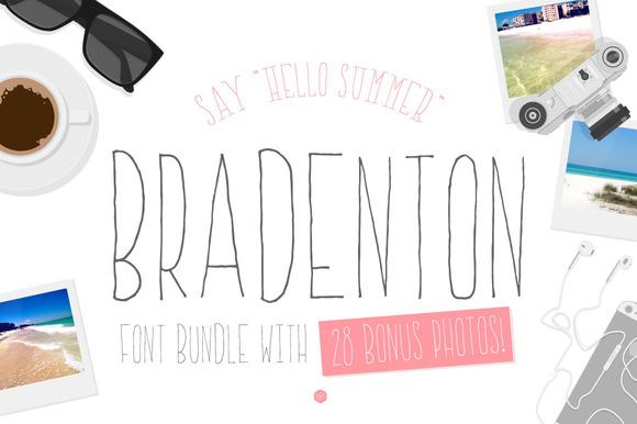 Bradenton Font Bundle