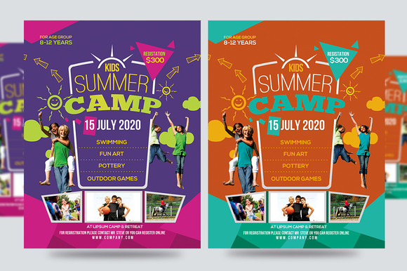 Kids Summer Camp Flyer V1