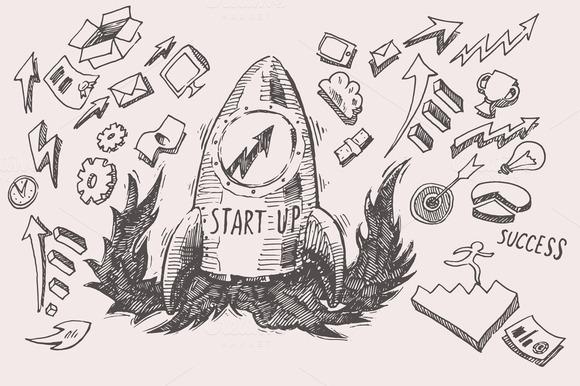 Business Idea Start Up Concept