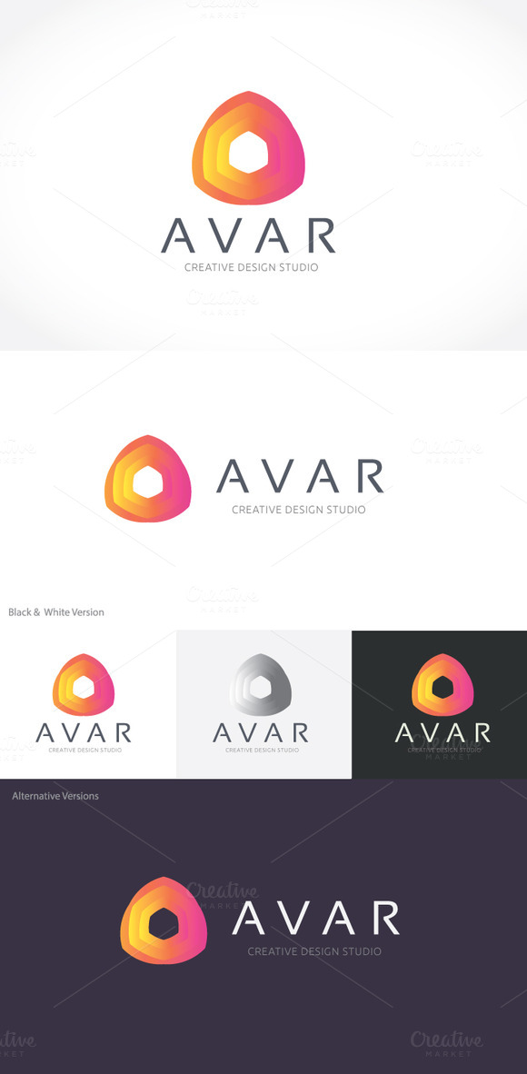 Abstract Logo V1