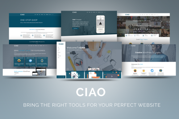 CIAO Multi-Purpose WordPress Theme
