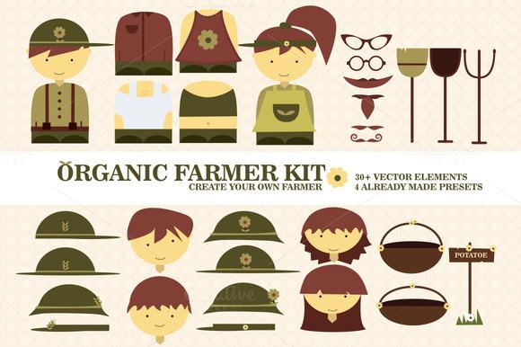 Organic Vector Farmer Kit