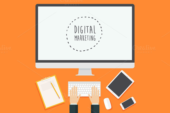Concept For Digital Marketing
