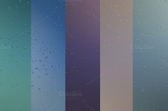 Water Drops Backgrounds