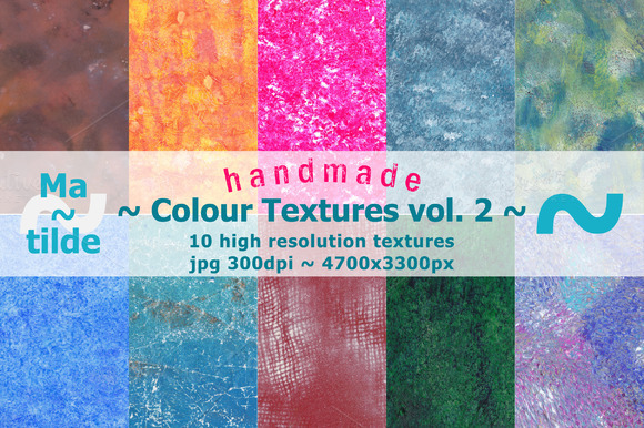 Handmade Colour Textures Volume 2