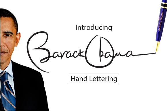 Obama Hand Lettering