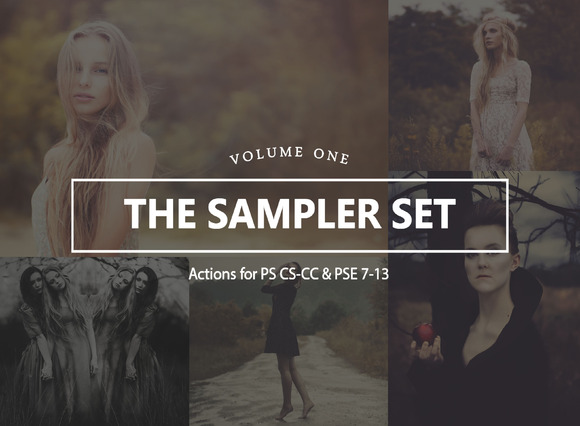 The Sampler Set Vol 1 For Photoshop
