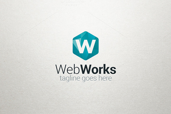 W Logo Web Works