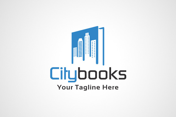 City Books Logo Template