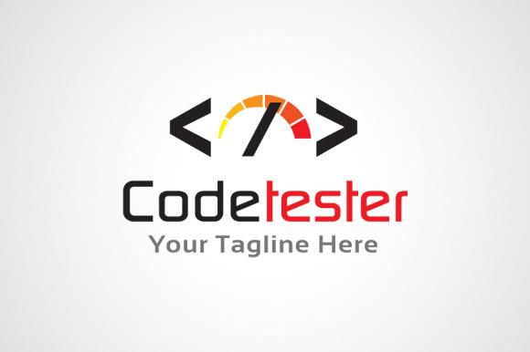 Code Tester Logo Template