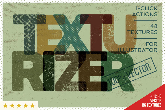 Texturizer Workshop For Illustrator