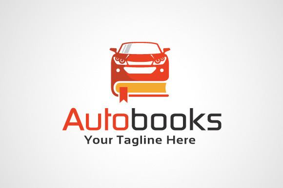 Auto Book Logo Template