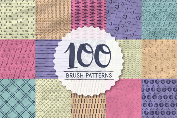 100 Brush Patterns
