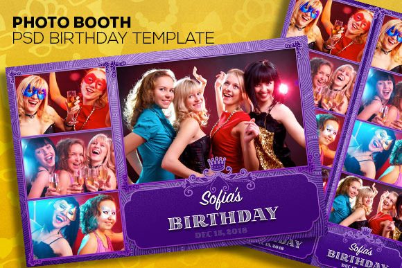 PhotoBooth PSD Templates Two Size
