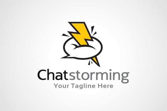 Chat Talk Logo Template