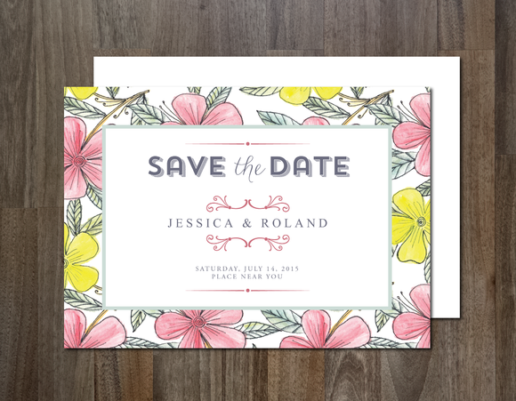 Save Date Invitation Templates - Save the date holiday party templates free