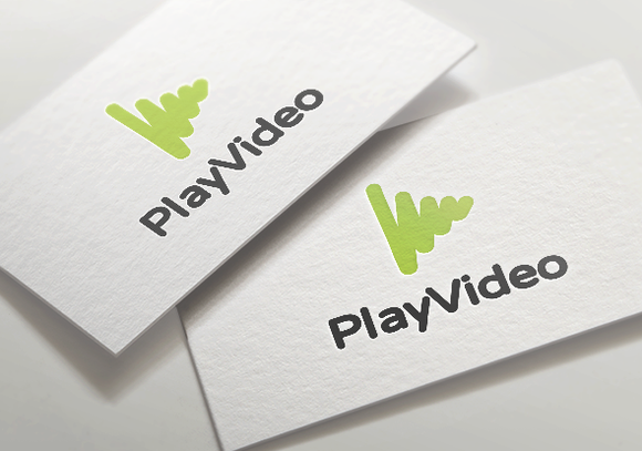 Video Play Simple Logo