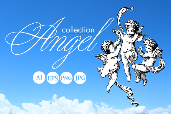 Angels And Cupids Collection