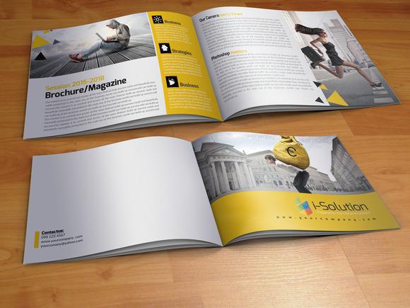 4 Business Bi Fold Brochure