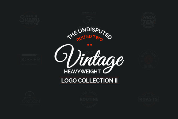 Vintage Logo Collection Round 2