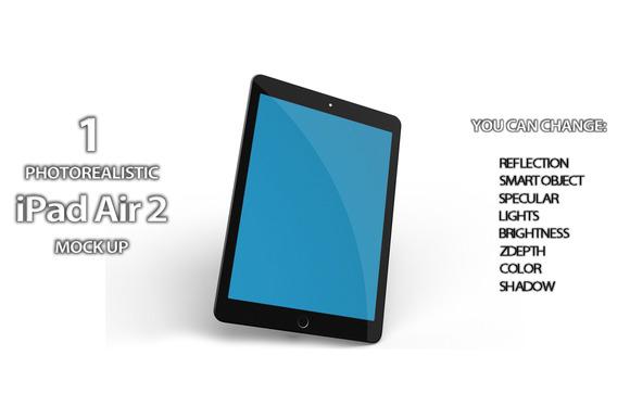 Apple IPad Air 2 Mock Up Vol 2