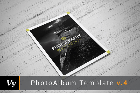 Clean Photo Album Template