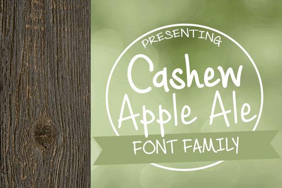 Cashew Apple Ale Font Family