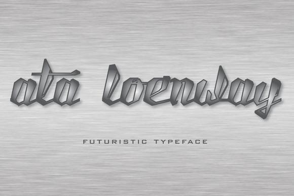 Ata Loenway Typeface