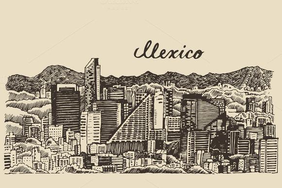 Mexico Skyline