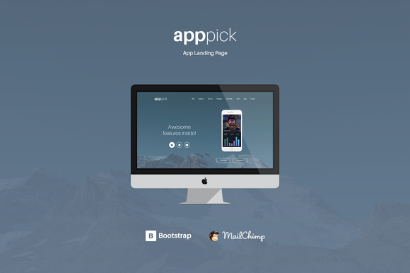 Apppick Complete App Landing Page