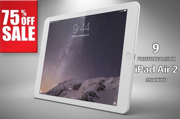Bundle Apple IPad Air 2 Mock Up Vol2
