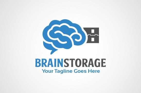 Brain Storage Logo
