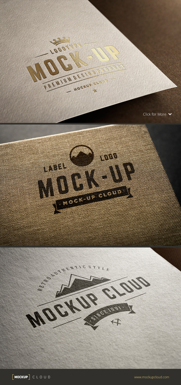 Logo Mock-Up Set