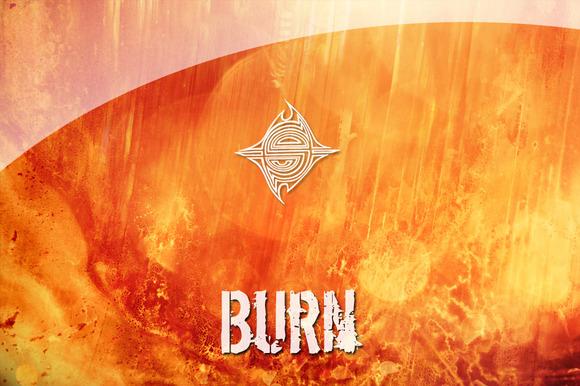 15 Textures Burn