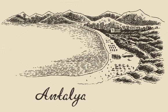 Antalya Skyline