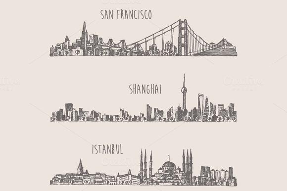 Shanghai Istanbul San Francisco