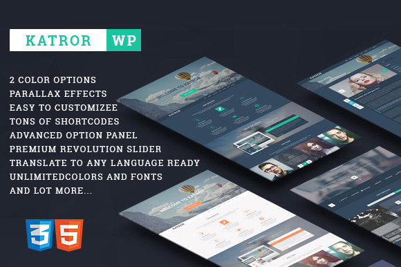 Katror Creative Multi-purpose Theme