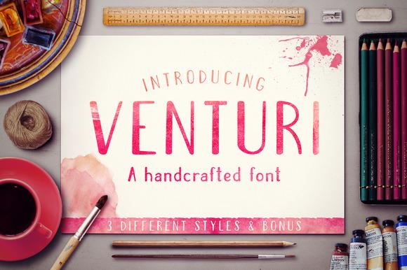 Venturi Typeface Bonus