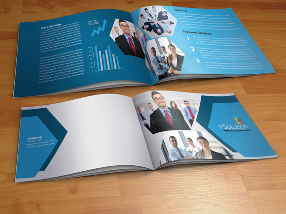 Elegant Business Bi Fold Brochure