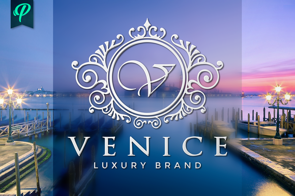 Venice Luxury Ornamental Logo