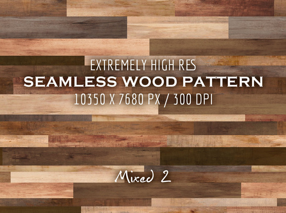 Extremely HR Seamless Wood Pattern Y