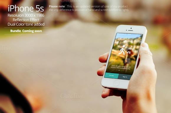IPhone 5s Mockup 7a