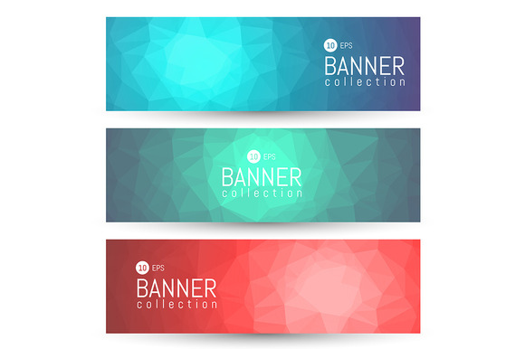 Site Banner Collection Headers Set